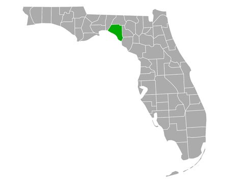 Map of Taylor in Florida