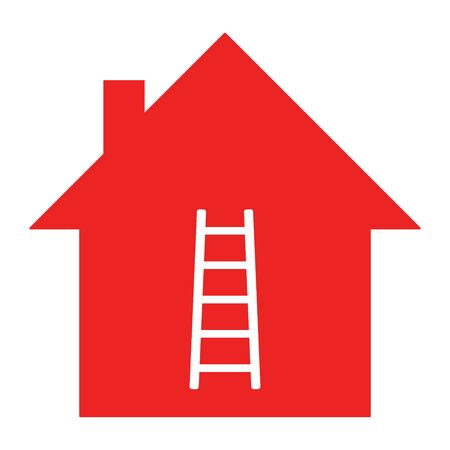 Ladder and home