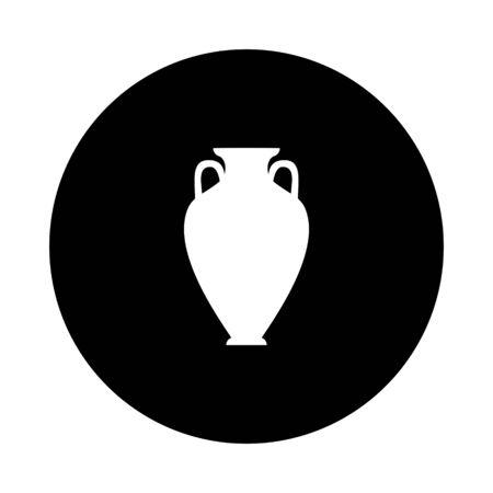 Amphora and circle