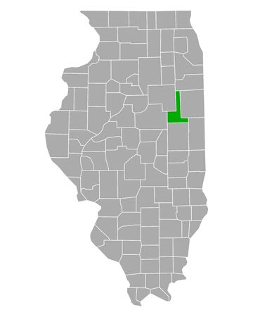 Map of Ford in Illinois