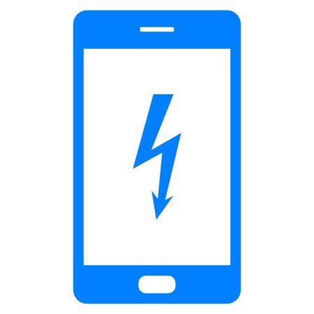 Lightning and smartphone