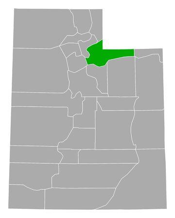 Map of Summit in Utah