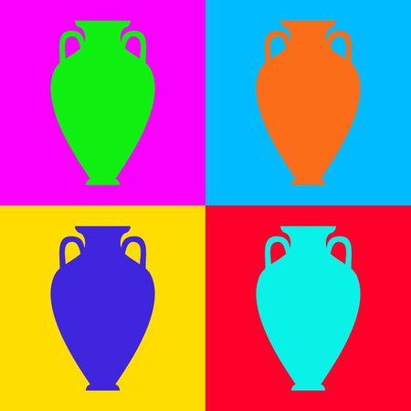 Amphora and pop-art
