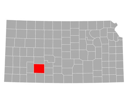 Map of Ford in Kansas