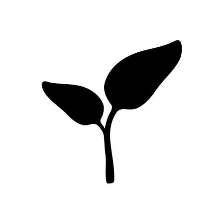 Plant illustration background