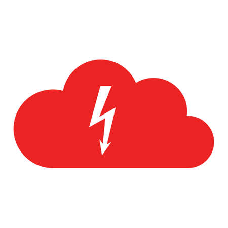 Lightning and cloud