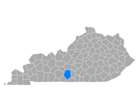 Map of Ingots in Kentucky