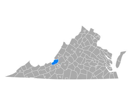 Map of Craig in Virginia