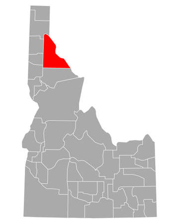 Map of Shoshone in Idaho