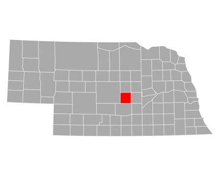 Map of Sherman in Nebraska