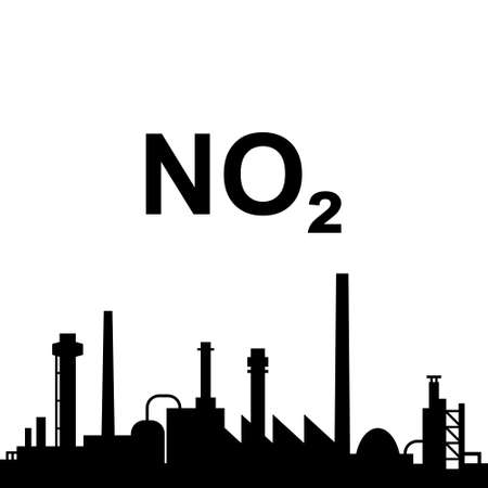 Nitrogen dioxide and industry