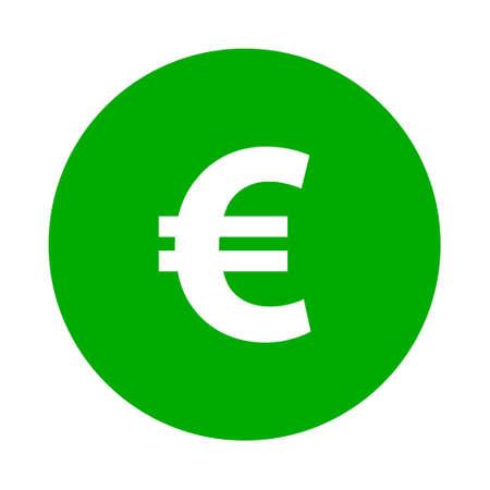 Euro and circle Çizim