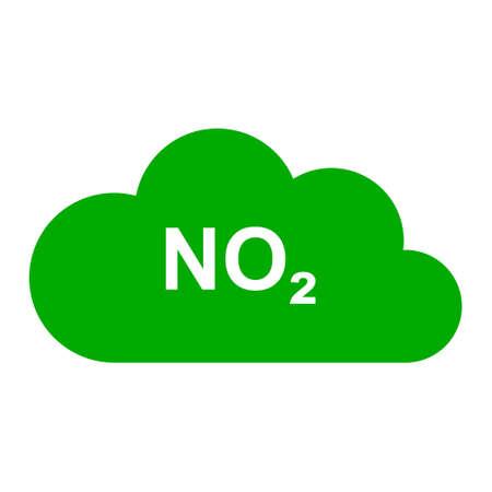 Nitrogen dioxide and cloud