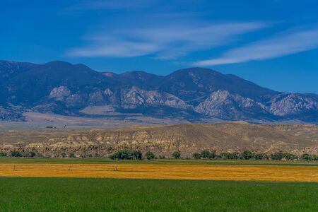 Cody Mountain Range 版權商用圖片