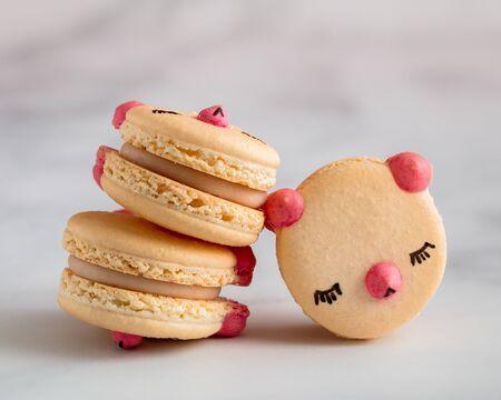 Macaron Cookies at Rest