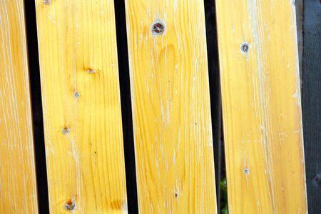 polished wood: Recinzione di legno lucido di pino Archivio Fotografico