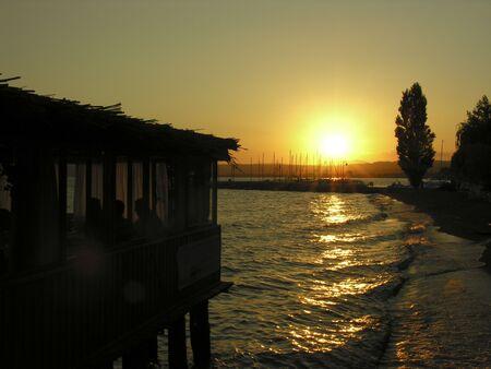 sunset Reklamní fotografie