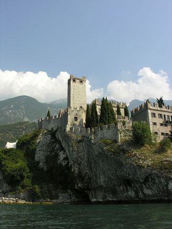 italian castle Reklamní fotografie - 244298