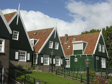 dutch houses Stock Photo - 247537