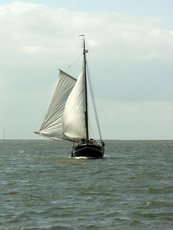 clipper in open water Reklamní fotografie - 247530