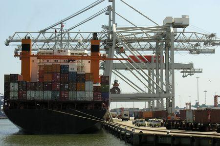 Kontejnerová loď Reklamní fotografie