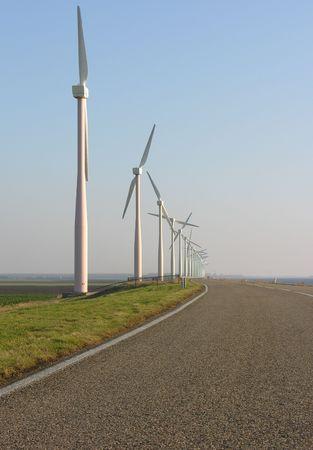 větrný mlýn Reklamní fotografie