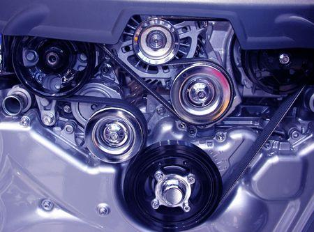 Inside a motor Reklamní fotografie - 249767