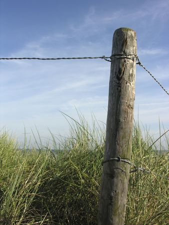 pole on the beach