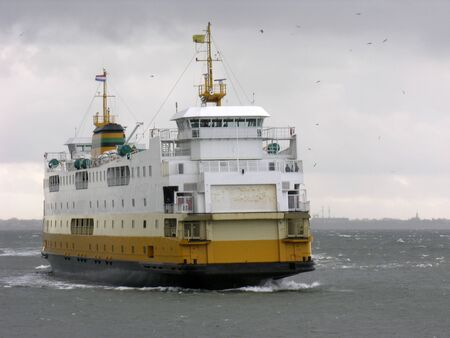 Ferry of Texel, Holland photo
