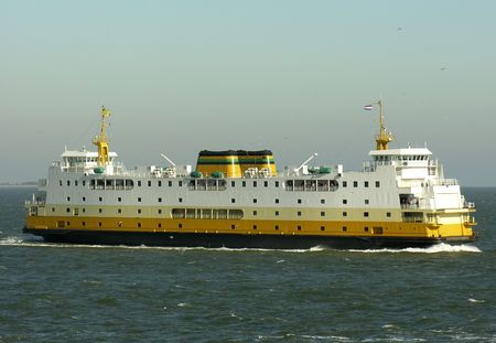 Ferry of Texel, Holland
