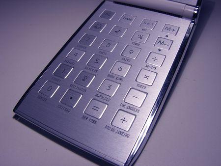 calculator Reklamní fotografie