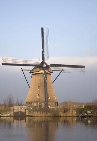 dutch windmill photo