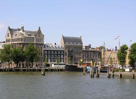 Port of Rotterdam Reklamní fotografie - 423620