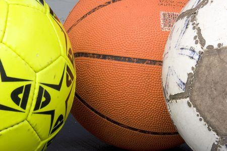 used balls photo