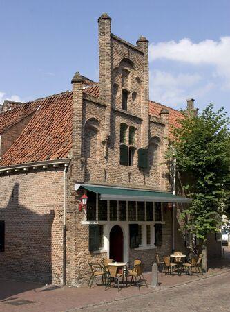 old cafe Reklamní fotografie