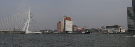 panorama of Rotterdam photo
