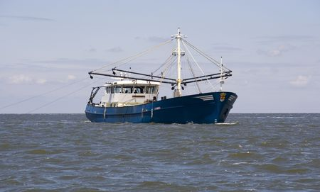 shrimp boat: fishing boat