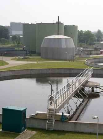 bomba de agua: planta de filtraci�n