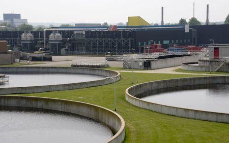 water treatment: filtration plant