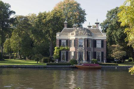 old dutch house Reklamní fotografie