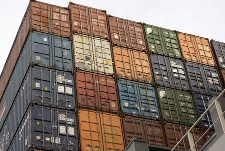 containers Reklamní fotografie