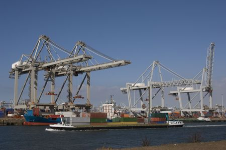 container terminal Stock Photo - 2859353