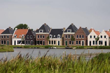 old dutch houses Reklamní fotografie