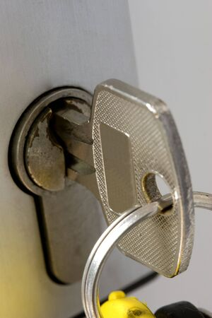 key in a lock Stock Photo - 3457866
