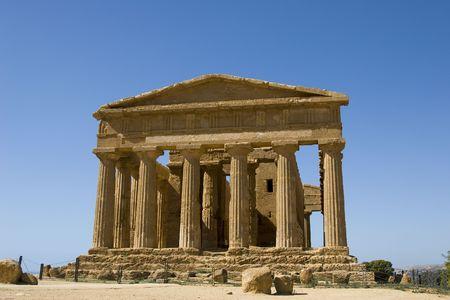 Acropolis in Sicily