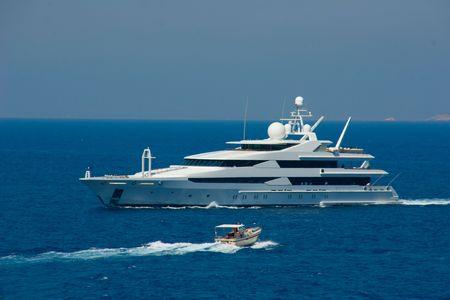 Jacht Zdjęcie Seryjne