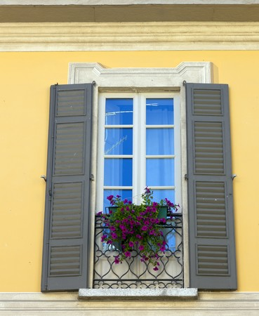a typical  italian window Stock Photo - 7524875