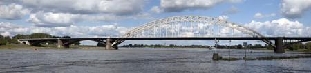 bridge over the waal in nijmegen