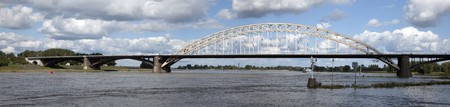 bridge over the waal in nijmegen
