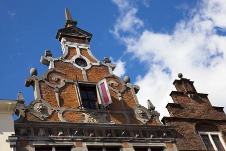 old dutch house in nijmegen, netherlands